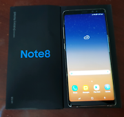 Samsung Galaxy note 8 gold 64gb used 3 months as new condition  Waterford West Logan Area Preview