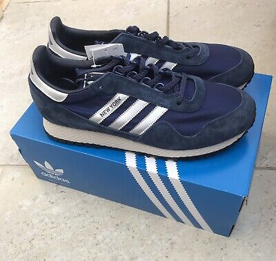 Adidas New York Blue BNIBWT UK 10