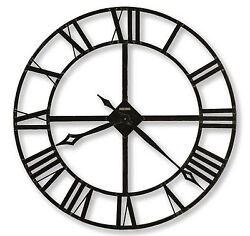 Howard Miller 625-372 (625372) Lacy Oversized Iron Wall Clock