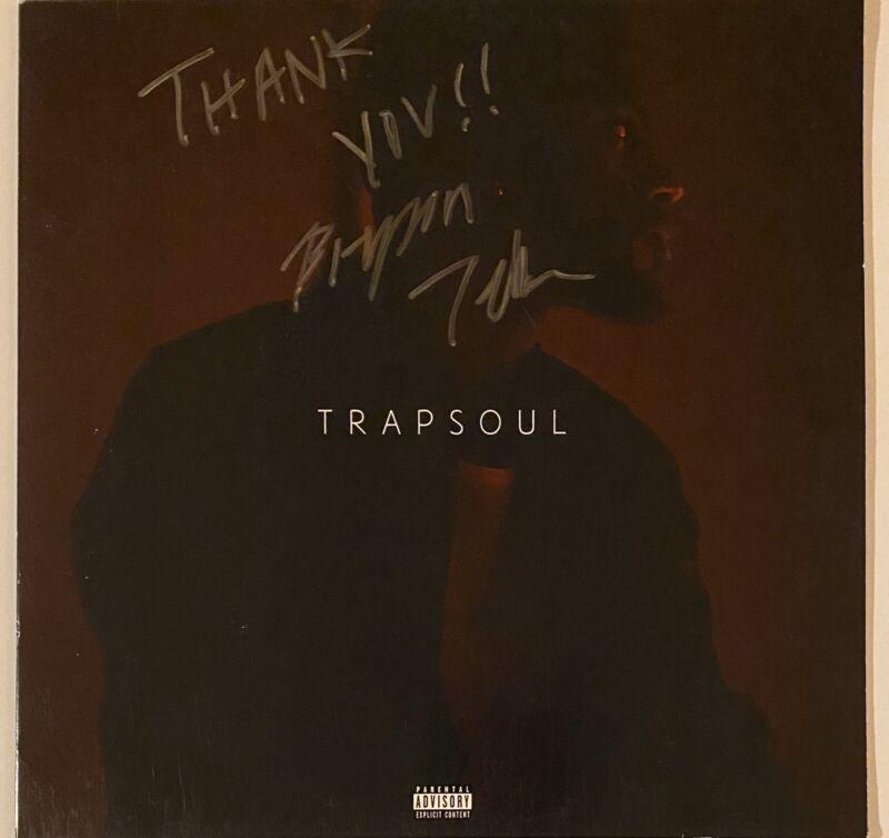 Bryson Tiller Signed Autographed Trapsoul Vinyl Record LP