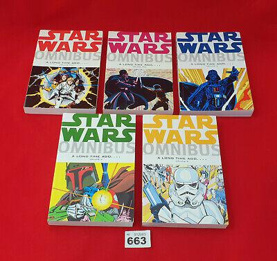 ⭐⭐B663 Star Wars Omnibus A Long Time Ago 1 2 3 4 5 Full Set Books Dark Horse⭐⭐