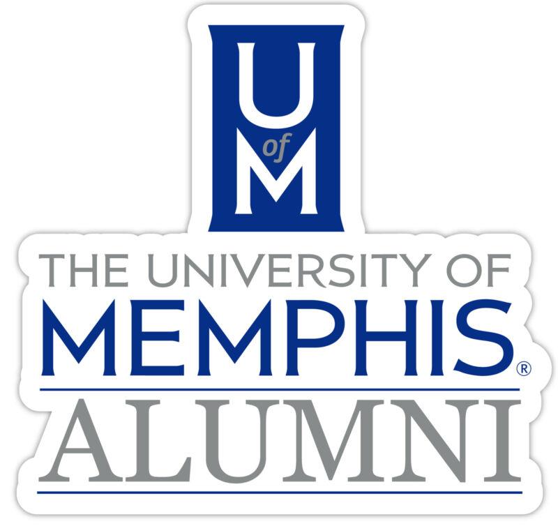 Memphis Tigers 4-Inch Laser Cut Alumni Vinyl Decal Sticker