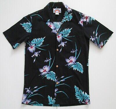 "Vintage Paradise Found Hawaii USA Hawaiian Cotton Shirt  36""-91.5cm XS (117H)"
