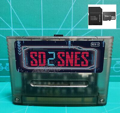 SD2SNES Super Nintendo Everdrive + 16gb sd card - SNES Famicom Super...