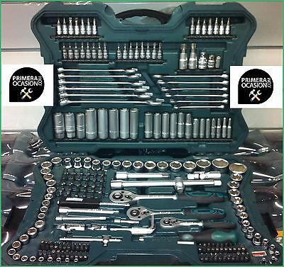 Maletin herramientas MANNESMANN 215 piezas aleman, nuevo