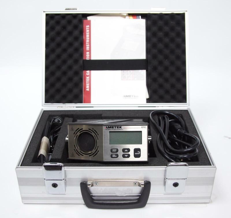 Ametek Jofra ETC-400 R Dry Block Temperature Calibrator