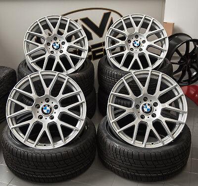 17 Zoll WH26 Alu Felgen 5x120 grau für BMW M Paket Performance e46 e90 e91 F30