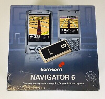 New Tomtom Navigator 6 GPS Receiver for PDA & Smartphone FACTORY SEALED Tomtom Gps Pda