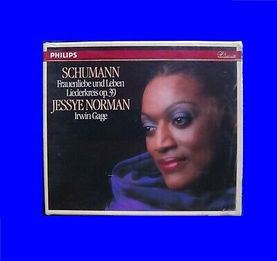 Jessye Norman Philips 420784-2 W Germany NOIFPI Schumann CD