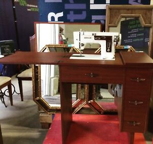 An antique sewing table!