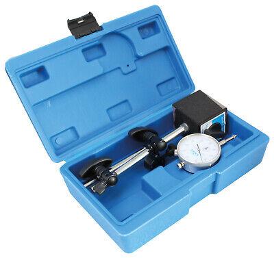 Kfz Magnetfuß Magnet Messstativ Messuhr Magnetstativ Messuhrhalter 0-10 0,01 mm (Messuhr Magnet)