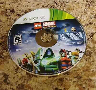 LEGO Marvel Super Heroes Microsoft Xbox 360 as is