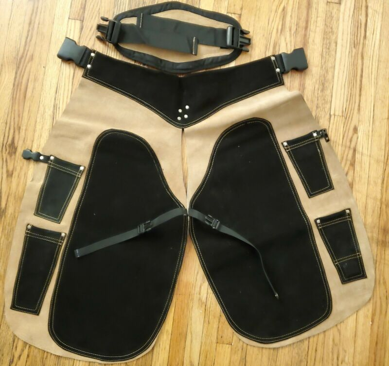 Professional Deluxe Leather Farrier Apron Farrier Chaps