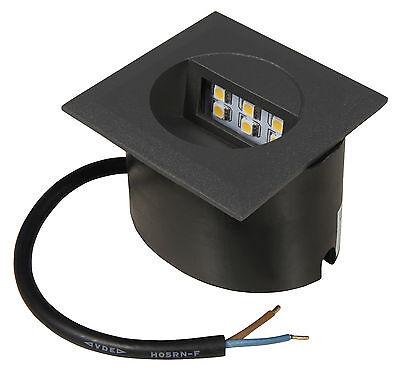 Unterputz-leuchte (LED Wandeinbaustrahler Mini-Linda Unterputz Einbauleuchte Treppenlicht IP65 230V)
