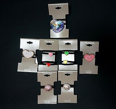 NEW NATASHA NORDSTROM SET OF 7 DIFF STYLES GREAT GIFT HAIR TIES PONY TAIL HOLDER ()