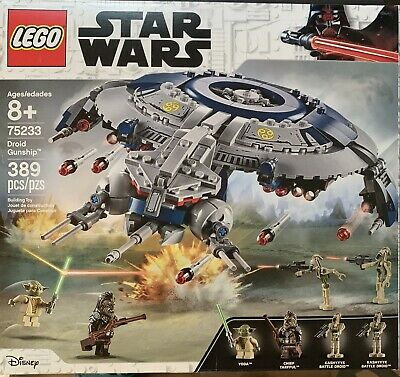 LEGO Star Wars - 75233 - Droid Gunship - Retired - New