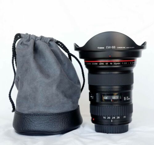 Canon EF 16-35mm f/2.8 L II USM Lens, Preowned Excellent, Sharp