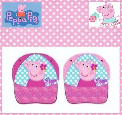 Peppa Pig Wutz Baseballmütze Mütze Kappe Kinder Disney Größe 50  Sonnenhut ()