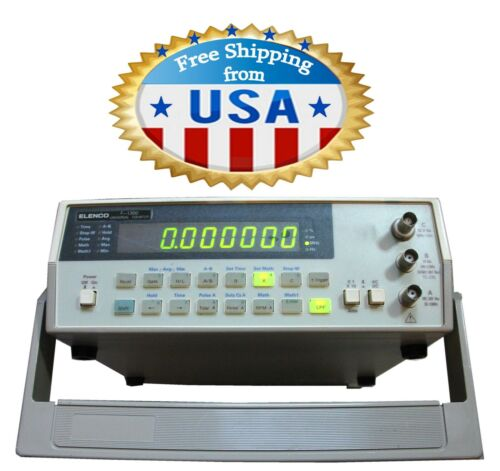 Elenco F-1300 Universal Frequency Bench Counter 50MHz to 1.3GHz, Preowned.