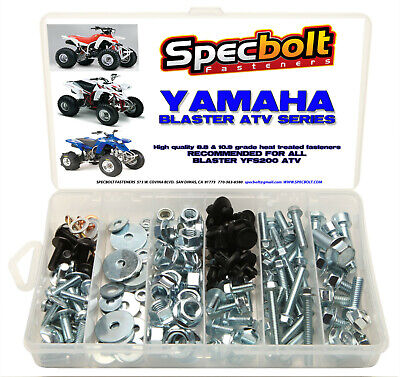 150pc YAMAHA BLASTER 200 ATV Bolt Kit fenders plastic body motor wheels grab bar