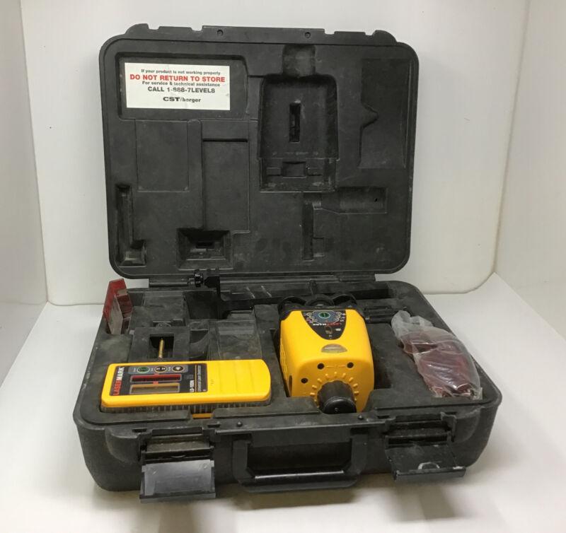 CST/Berger LaserMark LM-30 Wizard Rotary Laser LD-100N Universal Laser Detector