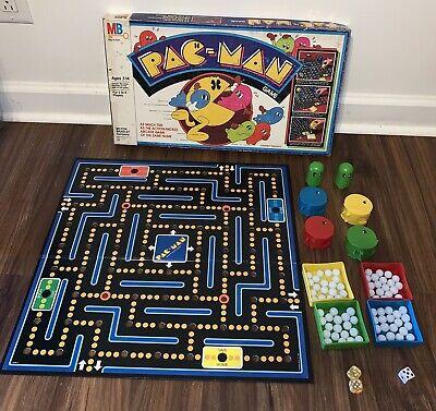 Milton Bradley PAC-MAN Board Game Rare 1980 #4216 Vintage