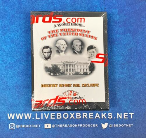 2020 A Word From The President Industry Summit Foil Exclusive Rare Box POTUS