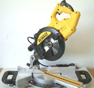DeWALT DWS773 216mm Sliding Crosscut Mitre Saw 240v