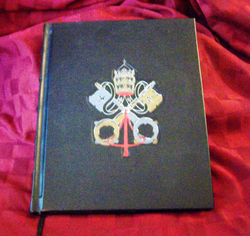 Knights Columbus KC Catholic Church Memoir Book Record Diary Journal Scrapbook