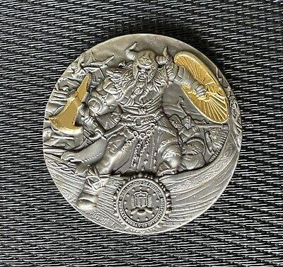 Rare FBI Denmark Attaché Viking Variation Challenge Coin NYPDLAPD SWAT