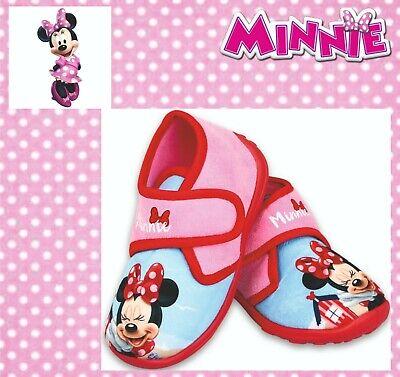 Minnie Maus Mouse Hausschuhe Kinder Disney Mädchen Indoor - Minnie Maus Schuhe