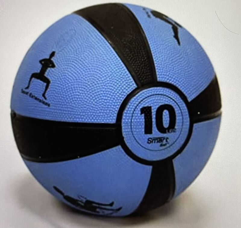 Prism Smart Medicine Ball - 10 lb Blue - Self-Guided