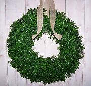 Winter Door Wreath
