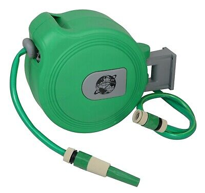 Auto Retractable 10M Wall Mounted Water Hose Reel Watering  Tool