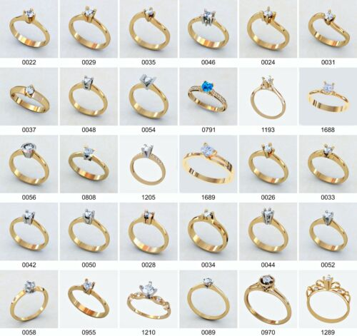 set of WAX PATTERNS( #4mm) for Lost Wax Casting silver or gold Jewelry (30 pcs)