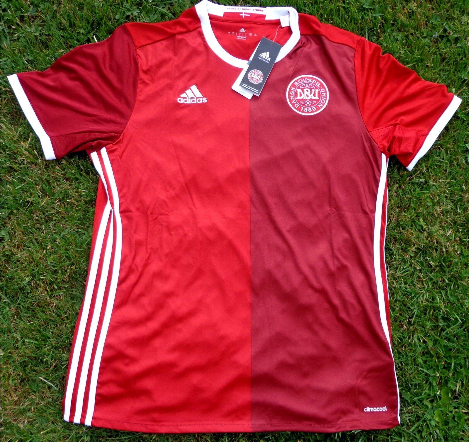 Adidas Dänemark Trikot Away Em 2016 Herren Weiß Grau