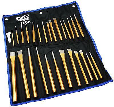 Meissel Werkzeug Set 28-tlg. Schlagwerkzeug Meißel Spitzmeißel Meißelhammer Satz