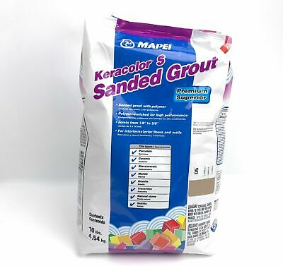 Mapei Keracolor S 10lb Bag Sanded Grout - Chamois Color 05