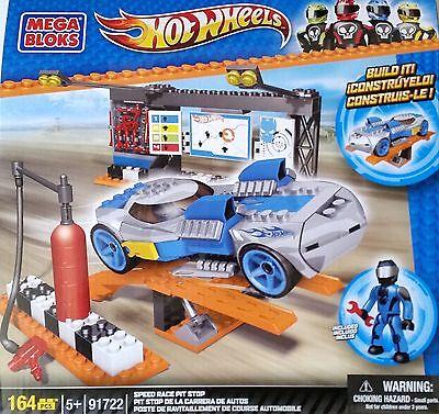 MEGA BLOKS® 91722 Hot Wheels™ Speed Race Pit Stop