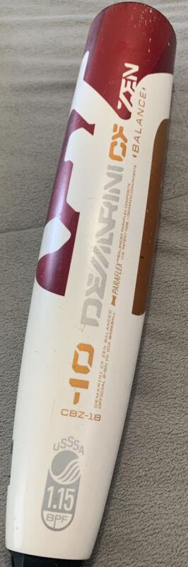 2018 Demarini CF Zen 30/20 -10 USSSA CBZ-18 BASEBALL BAT GREAT CONDITION