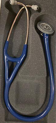 3m Littmann Master Cardiology Stethoscope 27 Navy Blue 2164 Nib
