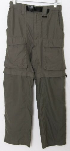 Boy Scouts of America Green Polyester Stretch Waist Switchback Pants Men