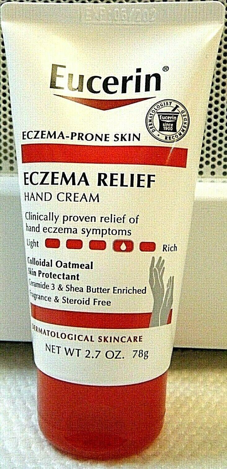 Eucerin Eczema Relief Hand Cream 2.7 oz Colloidal Oatmeal Sh