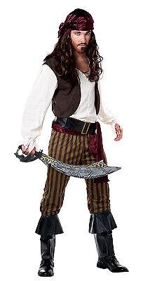 Adult Men Rogue Pirate Buccaneer Halloween Costume](Pirate Halloween Costumes For Men)