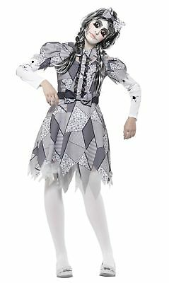 SMIFFY 45573  Puppe Damaged Doll Horror Grusel Halloween Karneval Damen Kostüm  ()