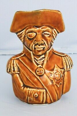 Antique British Admiral Lord Horatio Nelson Toby Jug Trafalgar Napoleon