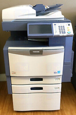 Toshiba E-studio 356 A3 Mono Laser Printer Copier Scanner Mfp 35ppm 456 506