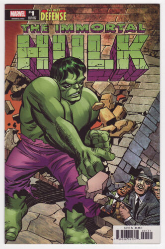 IMMORTAL HULK THE BEST DEFENSE #1 Jack Kirby 1:200 Hidden Gem Variant NM/NM+