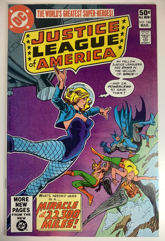 Justice League of America (1960) #188 in 9.4 Near Mint