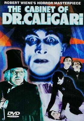 Das Cabinet Des Dr. Caligari [1919]   Robert Wiene   DVD NEU